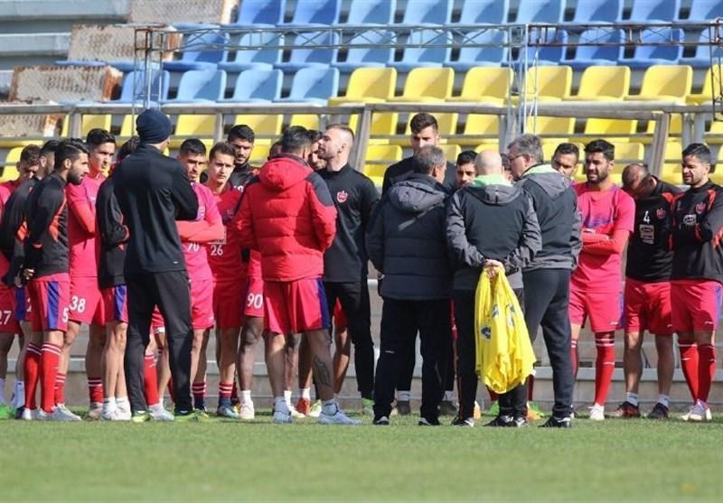 جلسه 5 بازیکن پرسپولیس با برانکو، اعتراض سرخپوشان به وضعیت مالی