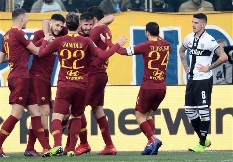 اینتر بدون هوادارانش امپولی را شکست داد، رم به مدعیان کسب سهمیه لیگ قهرمانان نزدیک شد