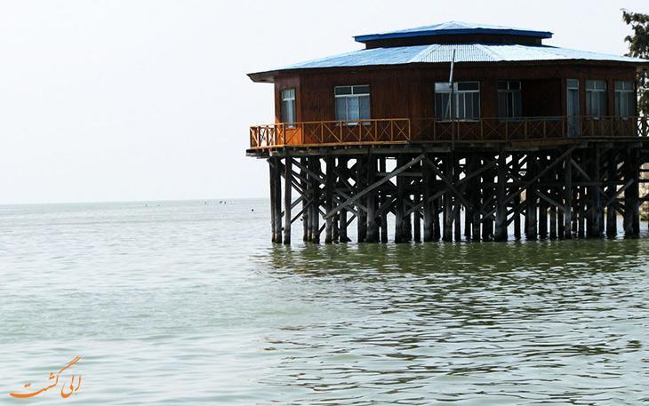 آشوراده، تنها جزیره ایرانی دریای خزر در بندر ترکمن