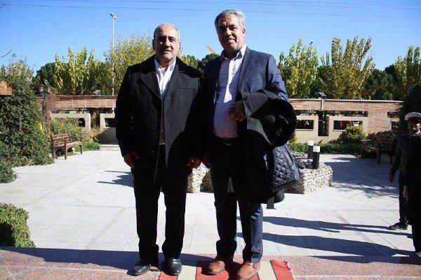 نشست مدیرعامل پرسپولیس با مسئولان سازمان لیگ