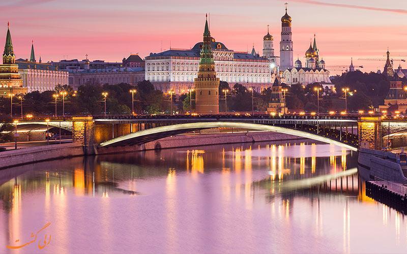 محوطه کرملین، قلب تاریخی شهر مسکو
