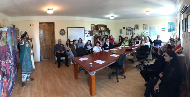 نشست شاهنامه خوانی در دانشگاه آکاکی تسرتلی گرجستان برگزار گردید