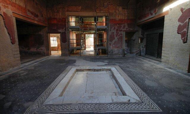 رونمایی از خانه زیبای باستانی مدفون زیر آتشفشان