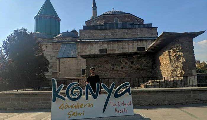 تصاویری از آرامگاه مولانا در قونیه ترکیه حوالی پاییز 98