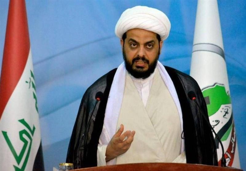 عراق، سفر کارشناسان سازمان ملل به بغداد، الخزعلی: درخواست انتخابات زودهنگام بیانگر دخالت آمریکاست