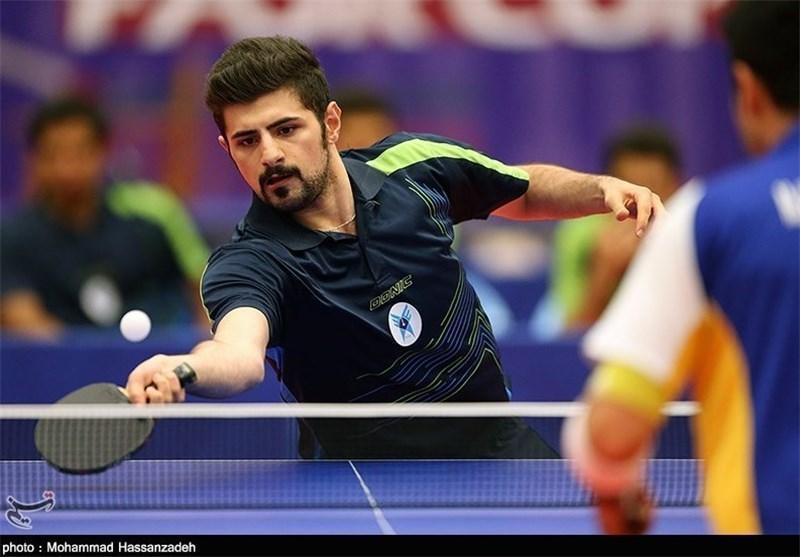 تیم پینگ پنگ مردان ایران به ژاپن باخت و به نیمه نهایی نرسید