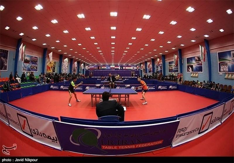 حریفان تیم های ملی تنیس روی میز ایران در مسابقات قهرمانی آسیا تعیین شدند