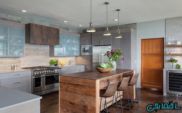 ایده های تغییر فضای آشپزخانه