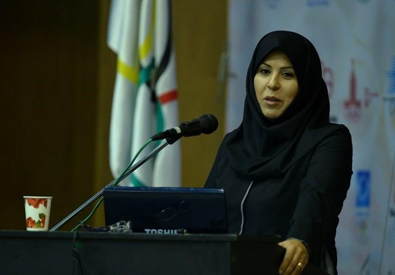 اینچه درگاهی: فدراسیون جهانی ژیمناستیک را برای پوشش اسلامی دختران ایرانی قانع کردیم
