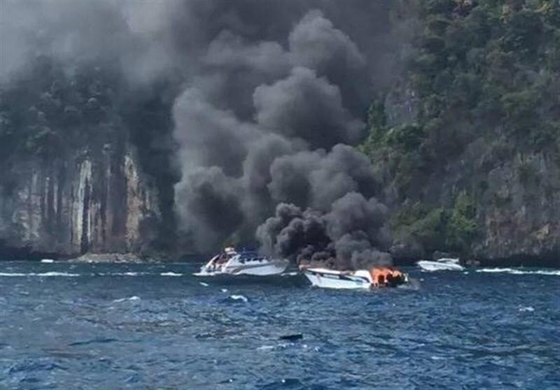 انفجار قایق گردشگری در تایلند