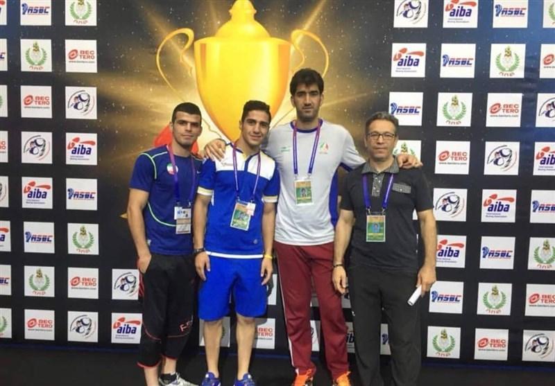 کسب 2 مدال نقره و یک برنز توسط نمایندگان بوکس ایران در تورنمنت تایلند