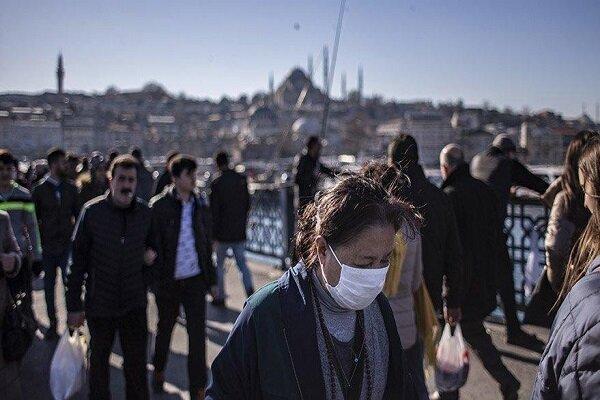 آمار قطره چکانی دولت ترکیه، تعداد فوتی ها بر اثر ابتلا به کرونا 21 نفر است