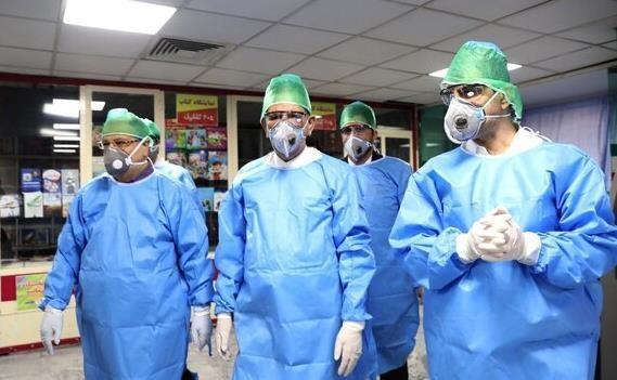جهانگیری از بیماران بخش کرونای بیمارستان امام حسین(ع) بازدید کرد