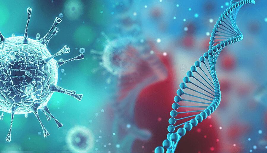 محققان انگلیسی: ژنتیک علائم ابتلا به کوویدـ19 را معین می نماید