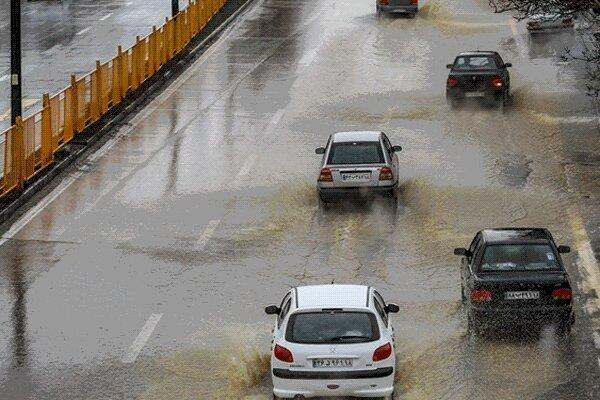 بارش شدید باران در 9 استان کشور