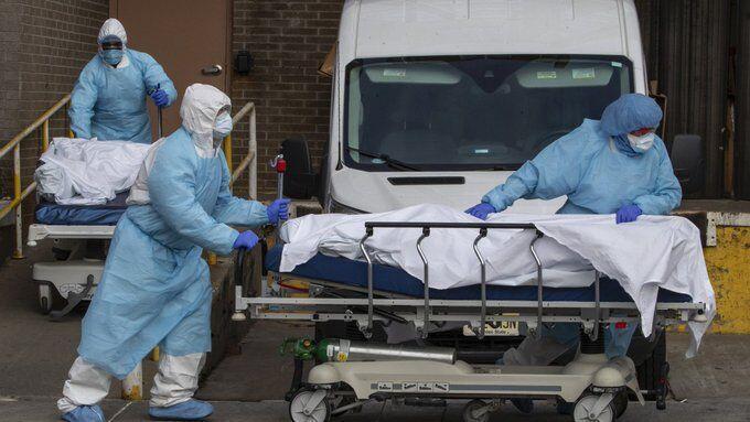 تلفات کرونا در آمریکا از 97 هزار نفر گذشت