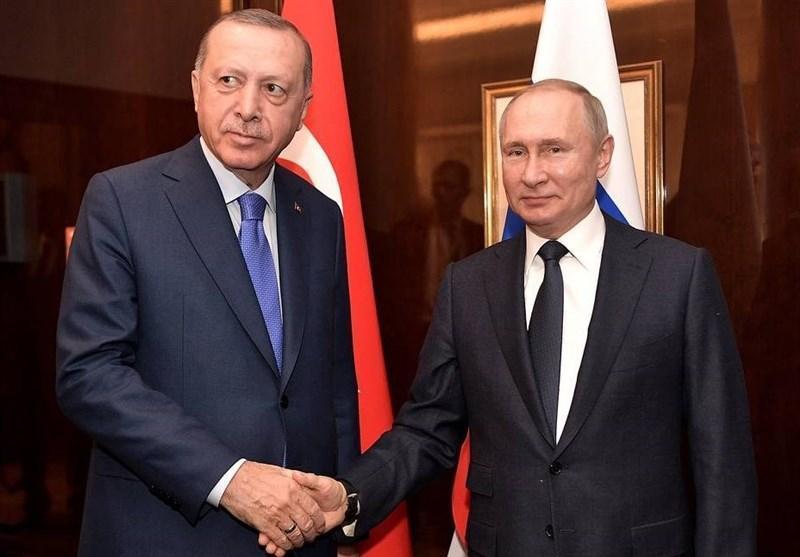 گفت وگوی تلفنی پوتین و اردوغان درباره سوریه و لیبی