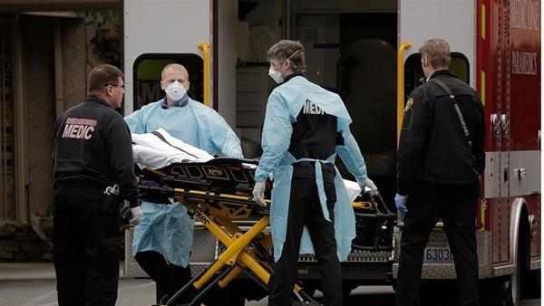 ثبت بیش از 1200 مورد مرگ بر اثر کرونا در آمریکا طی 24 ساعت گذشته