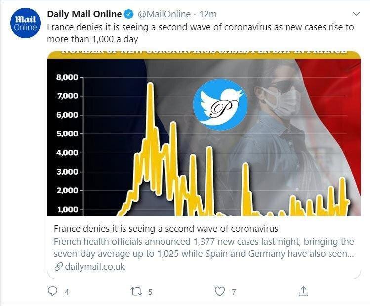 فرانسه آغاز موج دوم کرونا در این کشور را تکذیب کرد
