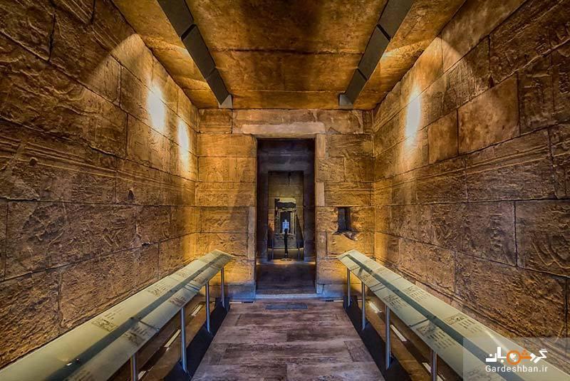 معبد دبود، تاریخ مصر باستان در دل مادرید، عکس