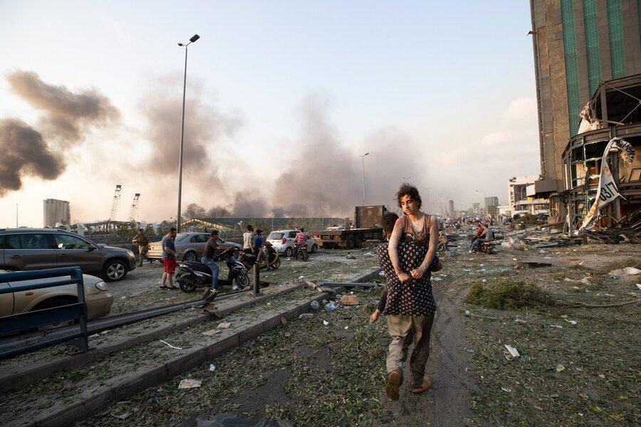 آخرین آمار کشته و زخمی های انفجار مهیب بیروت