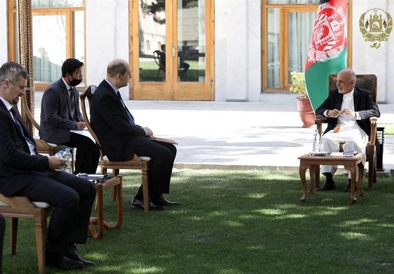 اشرف غنی: افغانستان و روسیه در مبارزه با تروریسم دیدگاه مشترک دارند