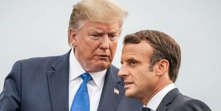 ماکرون: با ترامپ درباره لیبی و لبنان صحبت کردم