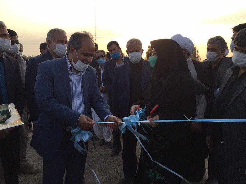 خبرنگاران 16 باب استخر پرورش ماهی در زهک با حضور استاندار سیستان و بلوچستان افتتاح شد
