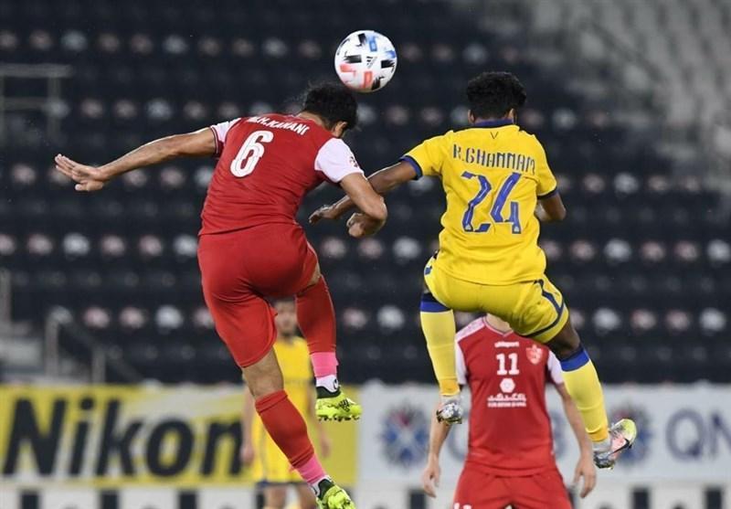 لیگ قهرمانان آسیا، ضربات پنالتی، مشخص کننده برنده ملاقات پرسپولیس و النصر