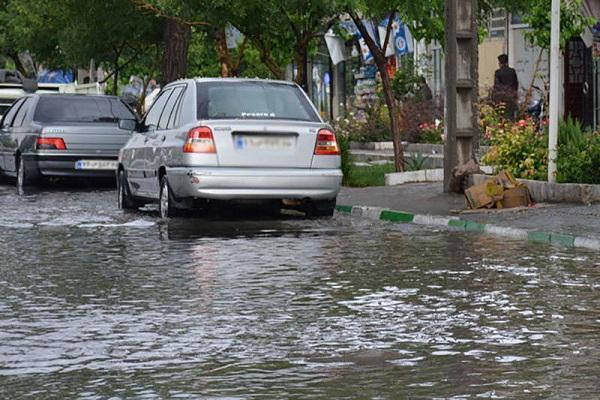 بارش شدید در 11 استان