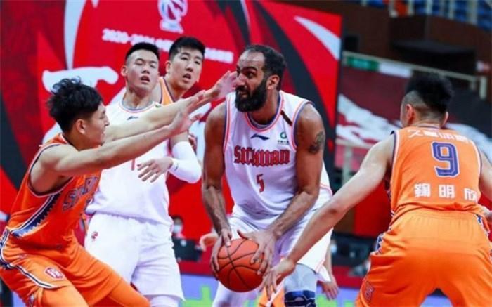 حدادی بازیکن هفته لیگ بسکتبال چین شد