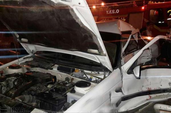 خبرنگاران تصادف رانندگی میان هشت خودرو در سنندج و چند خبر کوتاه