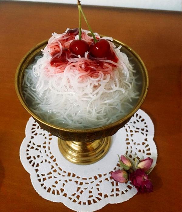 طرز تهیه فالوده شیرازی خانگی