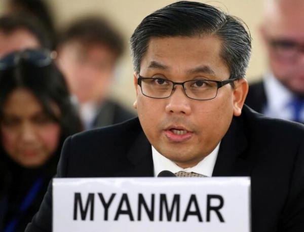 درخواست نماینده دولت برکنار شده میانمار در سازمان ملل برای تحریم های بیشتر آمریکا