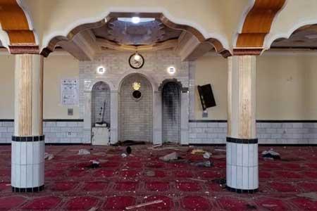 انفجار در مراسم نماز آدینه پایتخت افغانستان 12 کشته برجای گذاشت