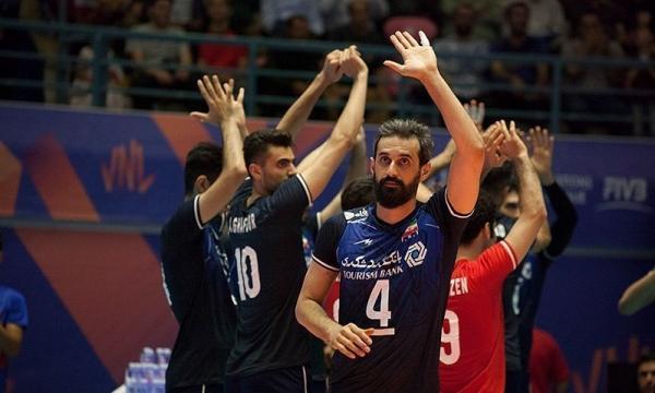 اعلام برنامه مسابقات تیم ملی ایران در لیگ ملت های والیبال