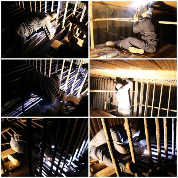 با تلاشی جهادی واحد یک بخار نیروگاه نکا پس از انجام تعمیرات غیرمترقبه به مدار تولید بازگشت