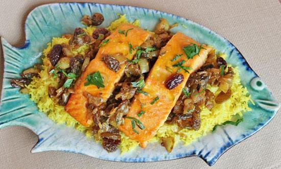 شور ماهی پلو؛ شام شب عید بوشهری ها