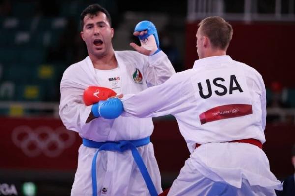 مرد طلایی کاراته نیازی به جراحی ندارد، گنج زاده به جهانی می رسد